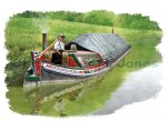 Wide boat