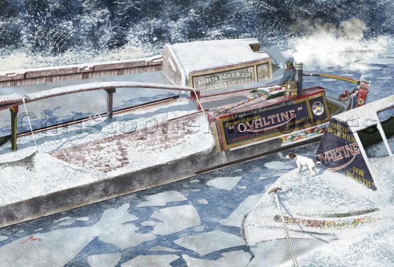 Ovaltine narrow boat